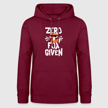 Cute Zero Fox Given T-Shirt - Women's Hoodie