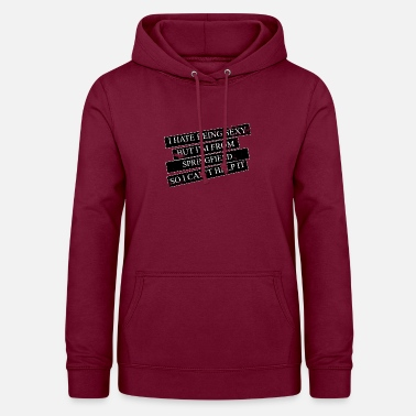 Springfield Motive for cities and countries - SPRINGFIELD - Women's Hoodie