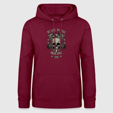 Gift for Biker - Year 1990 - Women's Hoodie