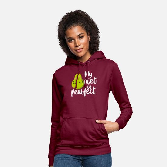 Veggie Hoodies & Sweatshirts - Activist Animal Love Statement Vegan - Women's Hoodie bordeaux