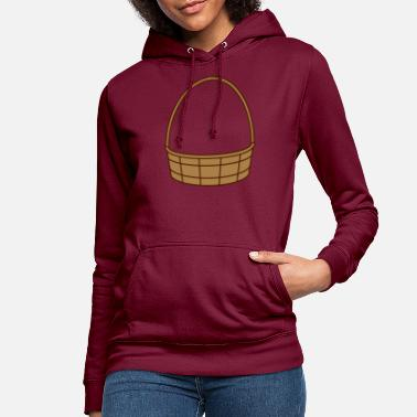Basket fill basket basket easter basket gifts - Women's Hoodie