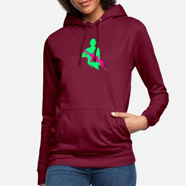 Bright Colours Bright Colors - Shooter - Let's Shoot - Women's Hoodie