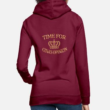 Brooklyn Times for Gina's Opinion Brooklyn Nine Nine B99 Tea - Women's Hoodie