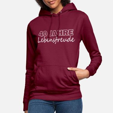 Zest For Life 40 years of zest for life - Women's Hoodie