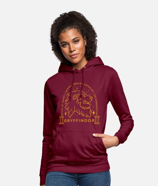 Potter Tröjor & hoodies - Harry Potter Gryffindor Coat of Arms - Hoodie dam bordeaux