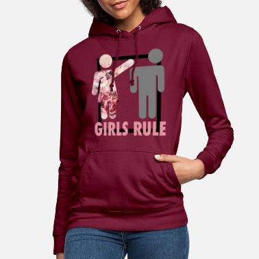 Girls Rule T-Shirt Frauenpower - Frauen Hoodie