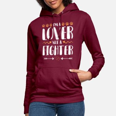 Raw Animal rights activists love fighters - Women's Hoodie
