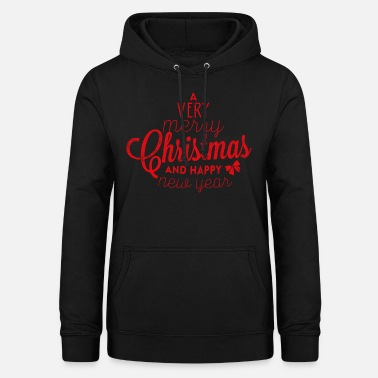 MERRY CHRISTMAS Xmas Christmas Gifts Shirt - Women's Hoodie