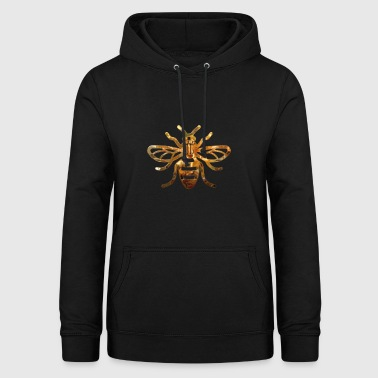 Manchester Bee GOLD - Women's Hoodie