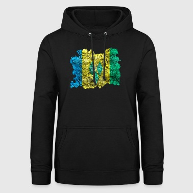 St. Vincent and the Grenadines vintage flag - Women's Hoodie