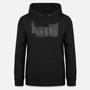 Periodensystem Periodensystem - Frauen Hoodie