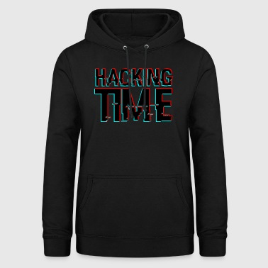 PIRATAGE TIME HACKER - Sweat à capuche Femme