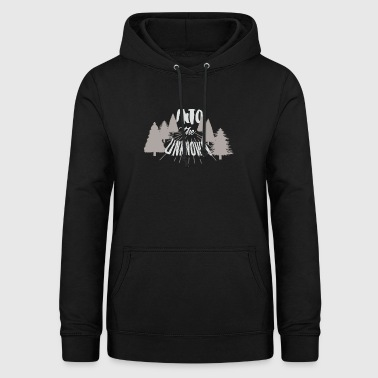 T-Shirt Excursion into the unknown! White - Women's Hoodie
