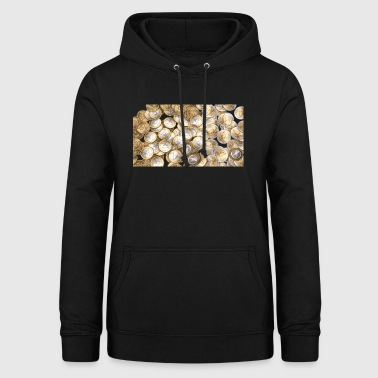 50 cents 1 Euro 2 Euro pieces - Women's Hoodie