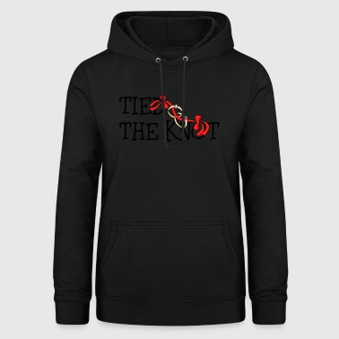 Just Married Der Knoten gebunden - Frauen Hoodie