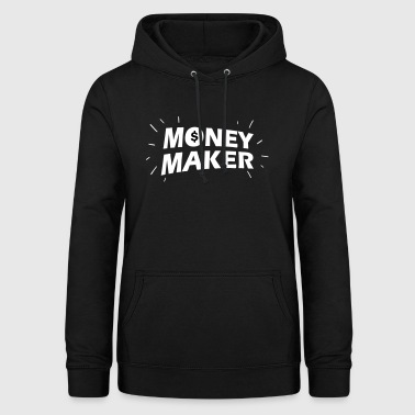 Money Maker Money Maker - Felpa con cappuccio da donna