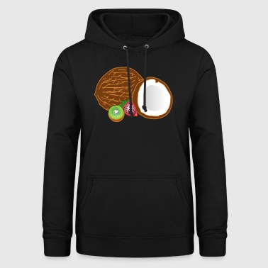 kiwi fruits fruit fruit fruit veggie vegetarian - Women's Hoodie