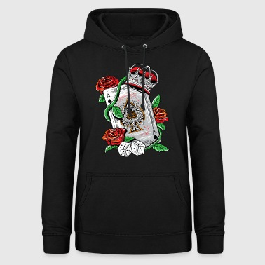 Ace Of Spades Ace of Spades Texas Holdem Poker Playing Card tee - Women's Hoodie