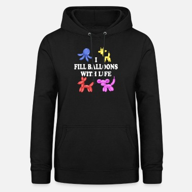 Artist Balloon animals artist child birthday gift - Women's Hoodie