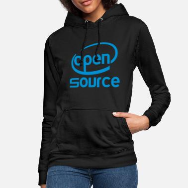 Open Source Open source Intel - Sweat à capuche Femme