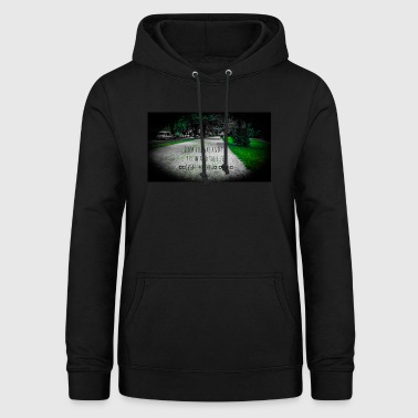 Alster Jesus speaks I am the way truth and life - Women's Hoodie