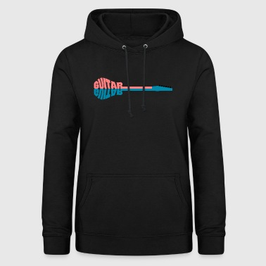Guitar writing - Women's Hoodie