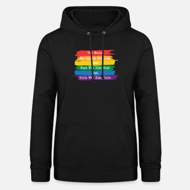 The world has bigger problems LGBT Pride - Women's Hoodie