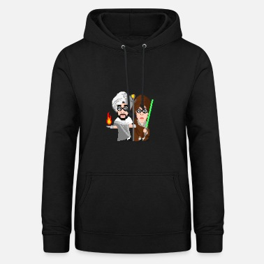 Scifi Fantasy vs. scifi crossover - Women's Hoodie