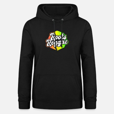 Roots Reggae Colored Music Gift - Women's Hoodie
