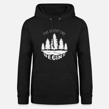 Adventure The adventure begins - Women's Hoodie