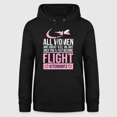Flight attendant - flight attendant - stewardess - - Women's Hoodie