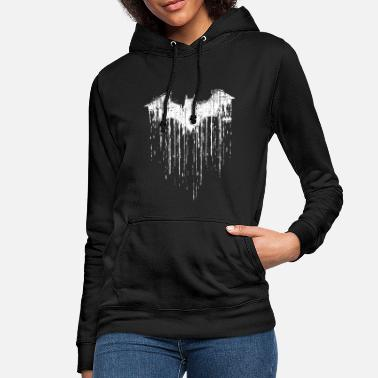 Film DC Comics Batman Fledermaus Used Look - Frauen Hoodie