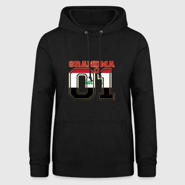 Grandma grandma queen 01 family Iraq - Women's Hoodie