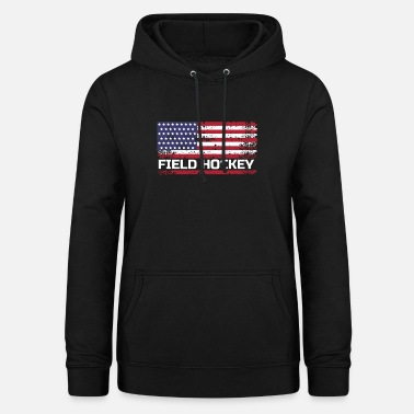 Field Hockey USA Field Hockey, USA Field Hockey Gift, Field Hockey Gift - Women's Hoodie
