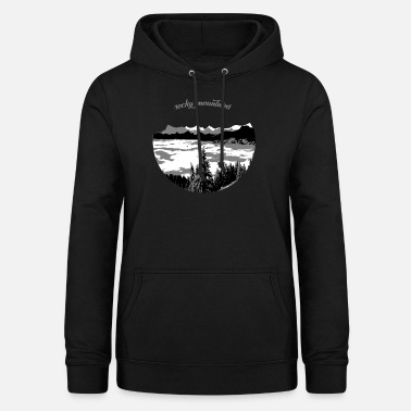 Rocky Mountains rocky mountains - Frauen Hoodie