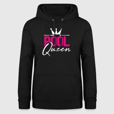 Pool Queen Pool Billiard Gift - Women's Hoodie