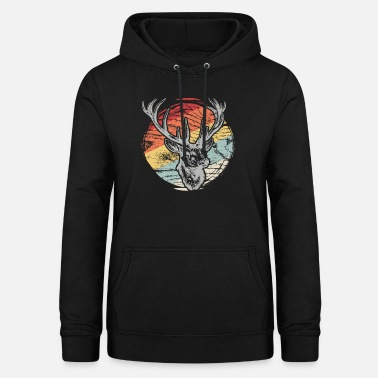 Animal Rights Activists Forest animal deer gift nature autumn - Women's Hoodie