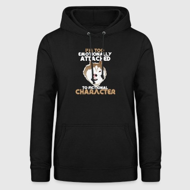 Furry Fandom Animal Foy Dog Gift - Women's Hoodie