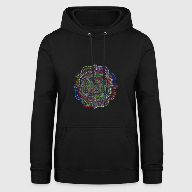 abstract - Vrouwen hoodie