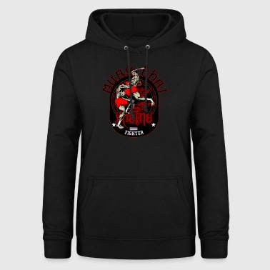 Muay Thai Fighter T-Shirt - Women's Hoodie