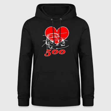 Mitica 500 Heart - I love the myth 500 - Women's Hoodie