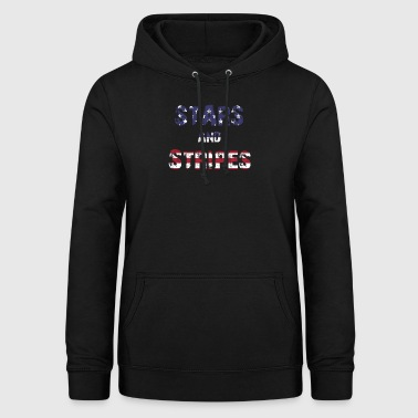Stars and Stripes - Frauen Hoodie