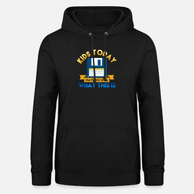 Kid Kids Today - Women's Hoodie