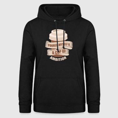 Coffee cappuccino gift idea - Women's Hoodie
