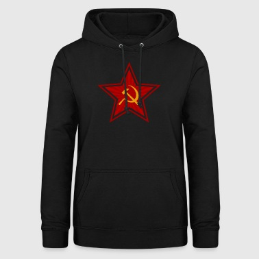 Communism Red Star - Idée cadeau - Sweat à capuche Femme