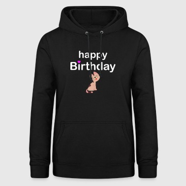 Happy Birthday - Frauen Hoodie