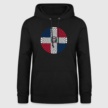 Dominican Republic Dominican Love Mandala - Women's Hoodie