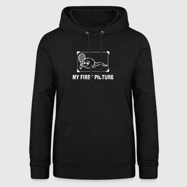 My first picture Tennis - Frauen Hoodie