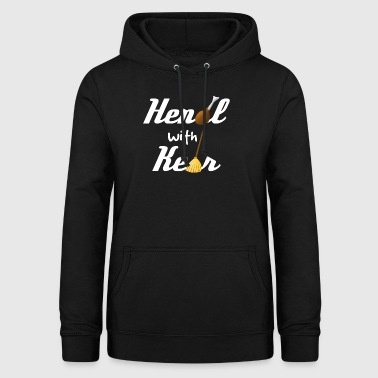 Handle with care! - Frauen Hoodie