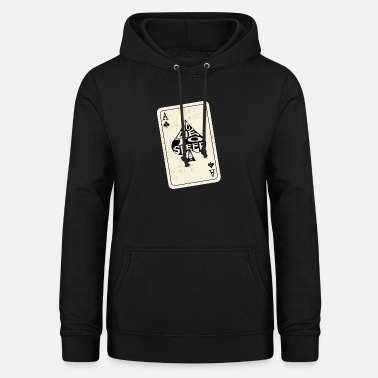 Ace Of Spades To Die, To Sleep Ace of Spades Playing Card - Women's Hoodie